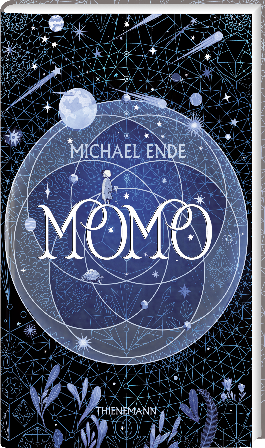 Bücherblog. Neuerscheinungen. Buchcover. Momo von Michael Ende. Jugendbuch. Fantasy. Thienemann.